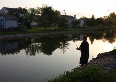 Fishing in Sugar Bush Farms